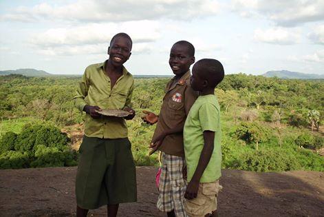 Kids in South Sudan
